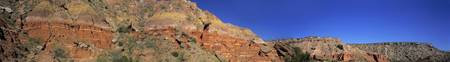 Rock formation at a state park Palo Duro Canyon S