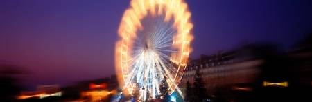 Ferris Wheel Jardin des Tuilleries Paris France