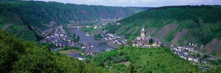 Mosel River Cochem Germany