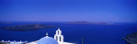 Aegean Sea Firostefani Santorini Greece