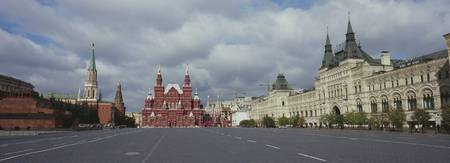 Road leading to the Red Square