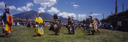Red Indians at a Pow-Wow