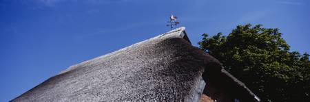 Low Angle View Of A Thatched Roof
