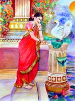 Damayanthi and the Swan