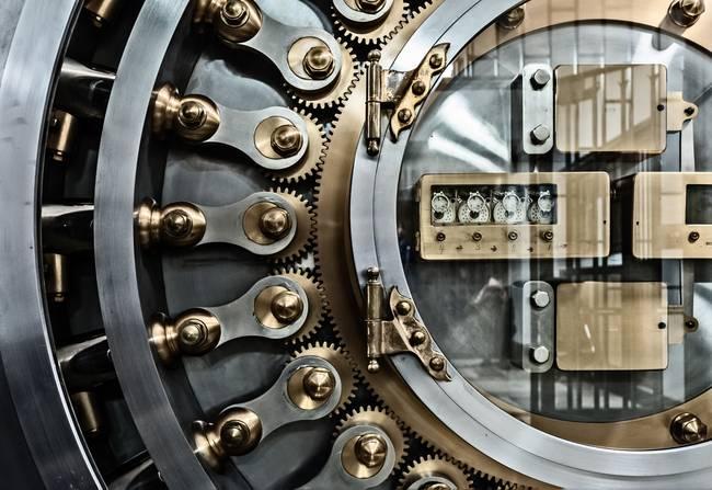 & Vault Door - Chicago Board of Trade by James Howe