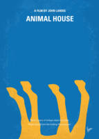 No230 My Animal House minimal movie poster