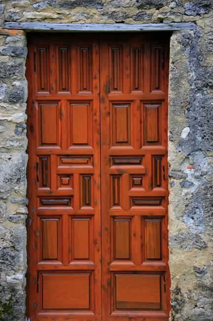 Mission Concepcion Door