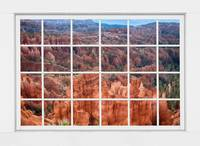 Bryce Canyon White Picture Window View