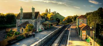 Corfe Castle Railway Station