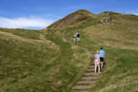 Walking Up Mam Tor (34202-RDA)