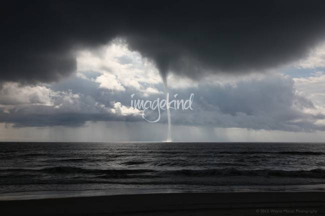 Waterspout Carolina Beach NC 8/18/2011