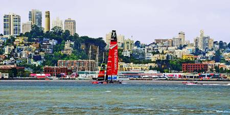 Americas Cup San Francisco Emirates Team New Zeala