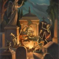 The Cemetery by Mark Bryan by Mark Bryan