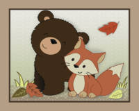 Bear and Fox