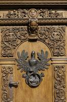 Polish eagle, door knocker.