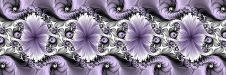 Fractal Purple Illusion