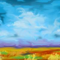 Windy Clouds Art Prints & Posters by Paul Weiner