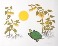 Turtle and Sunflowers