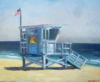Lifeguard Tower Zuma Beach