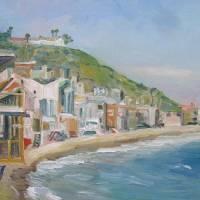 """Malibu Coastline"" by letspainttv"