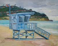 Lifeguard tower Torrence Beach