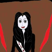 Vampire Queen Pageant - Miss Romania Art Prints & Posters by Tracy Lilly
