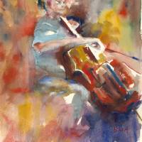 Cellist Art Prints & Posters by Barbara Hart