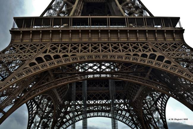 72 Names - Base of Eiffel Tower