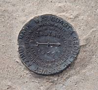 Survey Marker from 1949