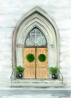 welcoming church door
