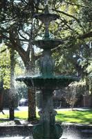 Savannah Square Fountain by Carol Groenen