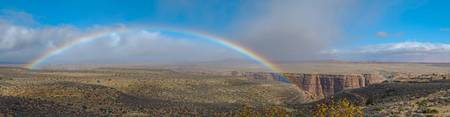 2536arizona.grandcanyon.rainbow.eastentrance.pan