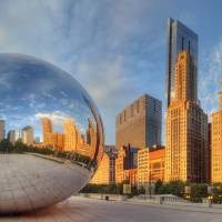 """chicagobean10"" by North22Gallery"