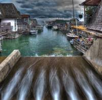 Fishtown in leland, Michigan