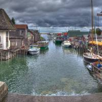 """""""Fishtown in leland, Michigan"""" by North22Gallery"""