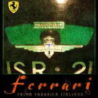ferrari poster in green by r christopher vest