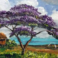 """Tropical Jacaranda Tree"" by mazz"