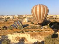 Butterfly balloons over Goreme