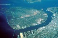 Aerial View of Pelican Island