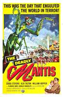 The Deadly Mantis Movie Poster