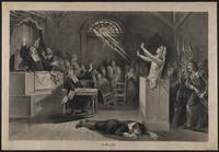 Salem Witch Trial Illustration