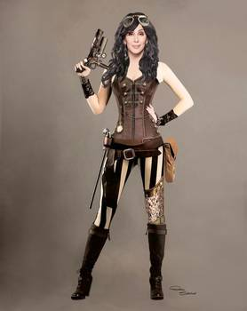 Cher Steampunk Costume By D Schellack