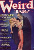 Weird Tales Vampire Comic Book