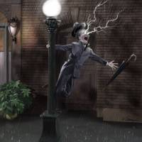 Singing in the Rain Art Prints & Posters by TOMAS SERRANO