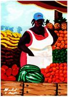 Fruit Market Woman