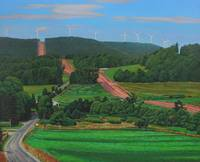 Kenneth_Cobb_2012_CrossRoads_OilonCanvas_36inx45in