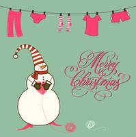 funny and cute christmas card-1