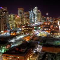 Calgary Lights by Thirteenth Avenue Photography