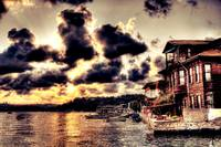Sunset of Istanbul HDR