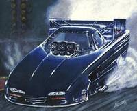 Drag Racing Funny Car nhra